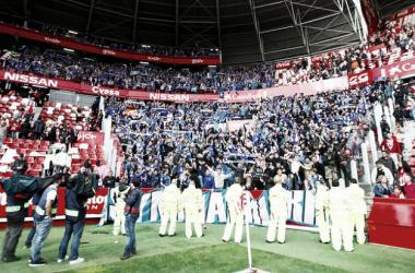 Grada en la que se colocaron los oviedistas | Imagen: Real Oviedo