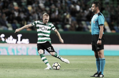 Jeremy Mathieu. Fuente: Web oficial Sporting CP