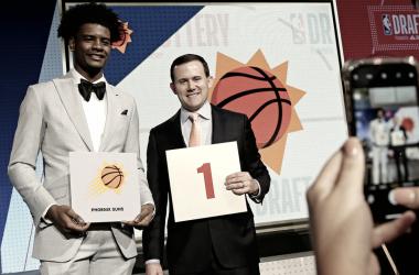 Suns elegirán primero en el NBA Draft. Foto vía: Sports Illustrated.