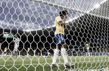 A baliza canarinha foi serventia da casa... (Foto: Sportskeeda.com)