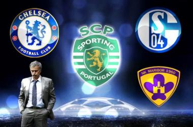Sporting no grupo G com Chelsea, Schalke e Maribor
