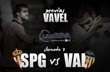 Sporting de Gijón - Valencia CF: romper la sequía de victorias