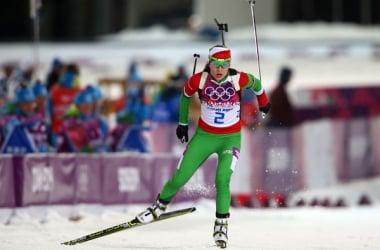 Darya Domracheva remporte le sprint en Finlande.