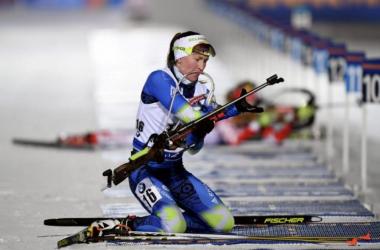 Darya Domracheva, glane une nouvelle victoire du côté de Tyumen.