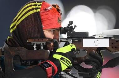 Arnd Peiffer, champion olympique du sprint