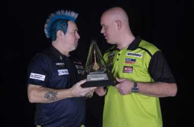"Darts: Peter Wright claims that Michael van Gerwen ""won't win a TV title this year"""