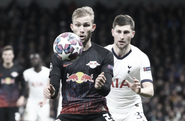 El RB Leipzig deja vivo al Tottenham Hotspur