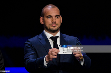 UEFA Champions League Draw on August 29, 2019 in Monaco. (Photo by Eurasia Sport Images/Getty Images)