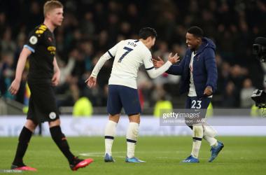 Tottenham Hotspur 2 - 0 Manchester City: slick Spurs sucker punch City in a thriller at the Tottenham Hotspur Stadium