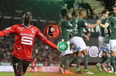 Ismaïla Sarr a répondu au premier but de Neven Subotic en Ligue 1. (Source : @DesignCsn sur Twitter)