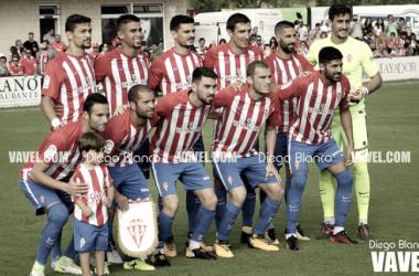 Real Sporting - Sevilla Atlético: puntuaciones Sporting; jornada octava de La Liga 123