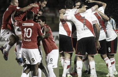 Resultado Juan Aurich - River Plate por la Copa Libertadores 2015 (1-1)