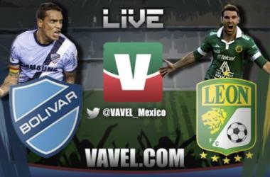 Resultado Bolívar - León en Copa Libertadores (1-1)