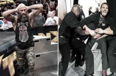 Tommaso Ciampa y Gargano se robaron los focos de la noche. Foto: WWE.com
