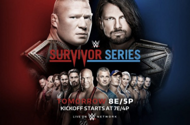 WWE loaded up this years Survivor Series. Photo: WWE.com