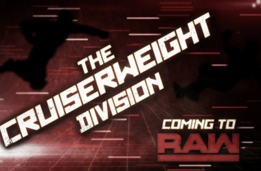 The Cruiserweight Division is expected to debut on RAW next month (image: youtube,com)