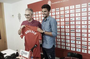 André Geralde nuevo jugador del Sporting. | Imagen: Andrés Fernández.