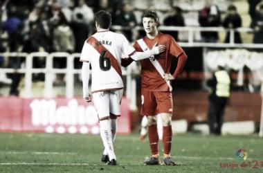 Pasada temporada contra el Sevilla Atlético | Fotografía: LaLiga