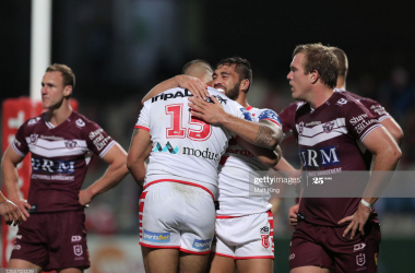 St George Illawarra Dragons 34-4 Manly Sea Eagles: Lomax shines as the Dragons see off the Sea Eagles
