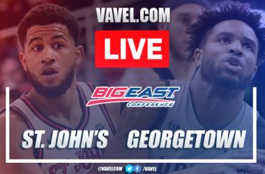 Full Highlights: St. John's 66-87 Georgetown, 2020 NCAA College Basketball