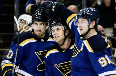 St. Louis Blues: Improved their roster significantly. | Photo: nhl.com