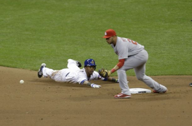 Showdown in the NL Central between the St. Louis Cardinals and the Milwaukee Brewers.