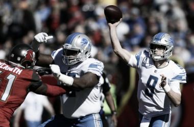 Los Lions ganan y siguen en la carrera por los playoffs   Foto: NFL