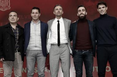 El nuevo staff de la Selección FOTO: sefútbol