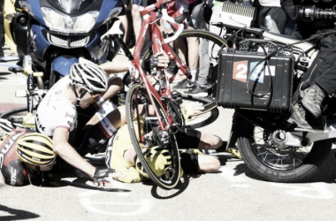 Team BMC's Richie Porte slams crowd control after stage 12 turned into a farce yesterday on Mont Ventoux