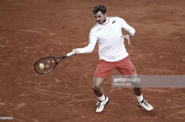 Wawrinka logró el pase a la segunda ronda en Montecarlo. Foto: Getty Images.