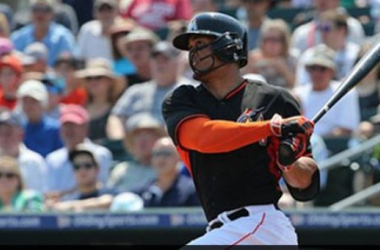 Giancarlo Stanton homered in the sixth. -- Denis Bancroft, Miami Marlins, marlins.mlb.com