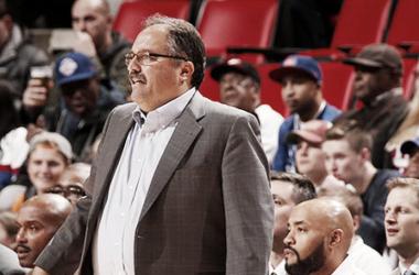 Stan Van Gundy deja de formar parte de los Pistons. | Foto: NBA.com/pistons