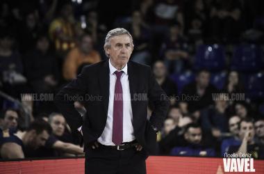 Stetislav Pesic FC Barcelona - Montakit Fuenlabrada / FOTO: Noelia Déniz (VAVEL)