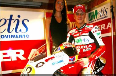 Muere Stefano Bianco, expiloto de Aprilia, en un accidente