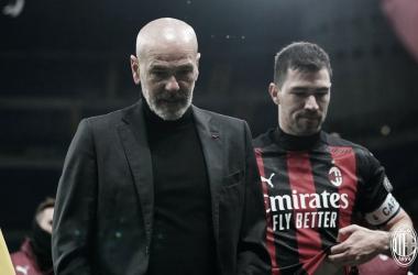 Pioli lamenta queda do Milan na Copa da Itália, mas está confiante na luta pelo título italiano