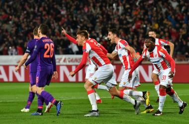 Champions League- Vince clamorosamente la Stella Rossa, Monaco sempre di più nel tunnel dei terrori