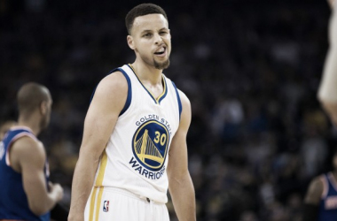 Steph Curry helped his Warriors side bounce back from consecutive losses. Photo: USA-TODAY Sports