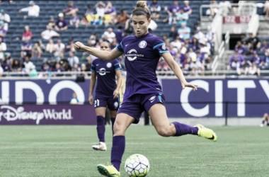 Steph Catley during 2016 NWSL season game. (Source: NWSLsoccer.com)