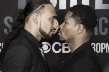 Keith Thurman (left) and Shawn Porter (right) | Stephanie Trapp - Showtime