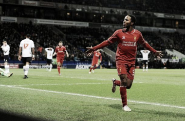 "Raheem Sterling hails ""magic"" teammate Coutinho after Bolton winner"