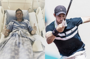 Steven de Waard, a 26-year-old Australian doubles specialist from Brisbane, underwent an emergency appendectomy after his first-round doubles match at the Odlum Brown VanOpen after suffering from multiple days of stomach pain, nausea and loss of appetite: