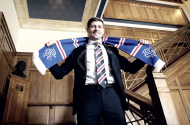 Steven Gerrard, nuevo entrenador del Rangers