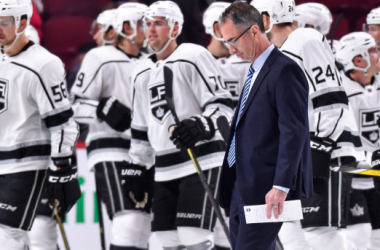 John Stevens' weak start cost him the job in LA (Photo: NHL.com)