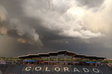 Storm Delays First Half Of Rapids Game, But Foreshadows Second Half Craziness