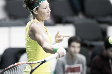 Stosur in Fed Cup action. Photo: AAP/tennis.com/au