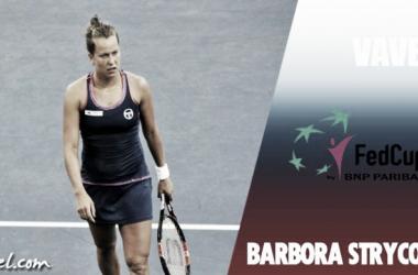 Fed Cup 2017. Barbora Strycova: una tenista en la sombra