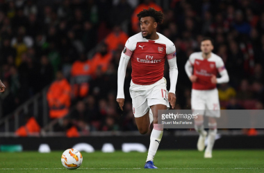 Alex Iwobi speaks out on serious Welbeck injury