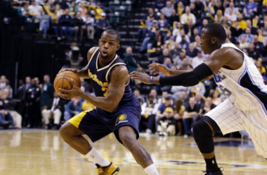 Indiana Pacers vs. Orlando Magic on March 10, 2015 in Indianapolis - AP Images