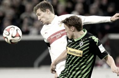 El Monchengladbach pone el juego... y el Stuttgart el gol