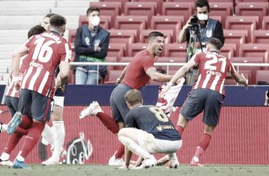 Atletico de Madrid 2 a 1 Osasuna (LaLiga / Divulgação)